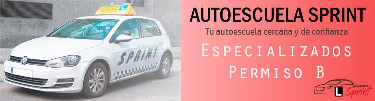Autoescuela Sprint - Especializados carnet B